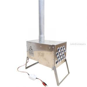Теплообменник КУЗЬМА стандарт плюс, матариал корпуса и трубок алюминий масса 3,9кг