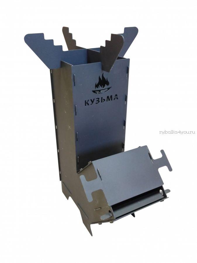 Турбо печь Кузьма (печь ракета)