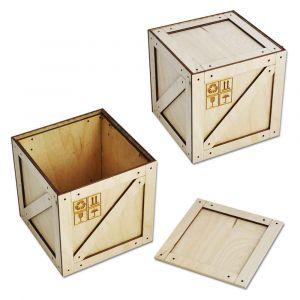 Коробка-ящик под подарок (125 мм)