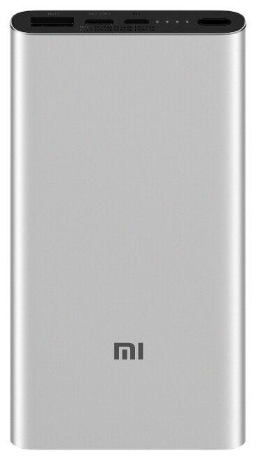 Универсальный внешний аккумулятор (Power Bank) Xiaomi Mi Power Bank 3 10000 (10000 mAh) (silver)