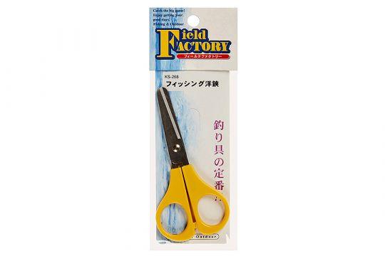 Ножницы Field Factory Fishing Scissors KS-268 Yellow