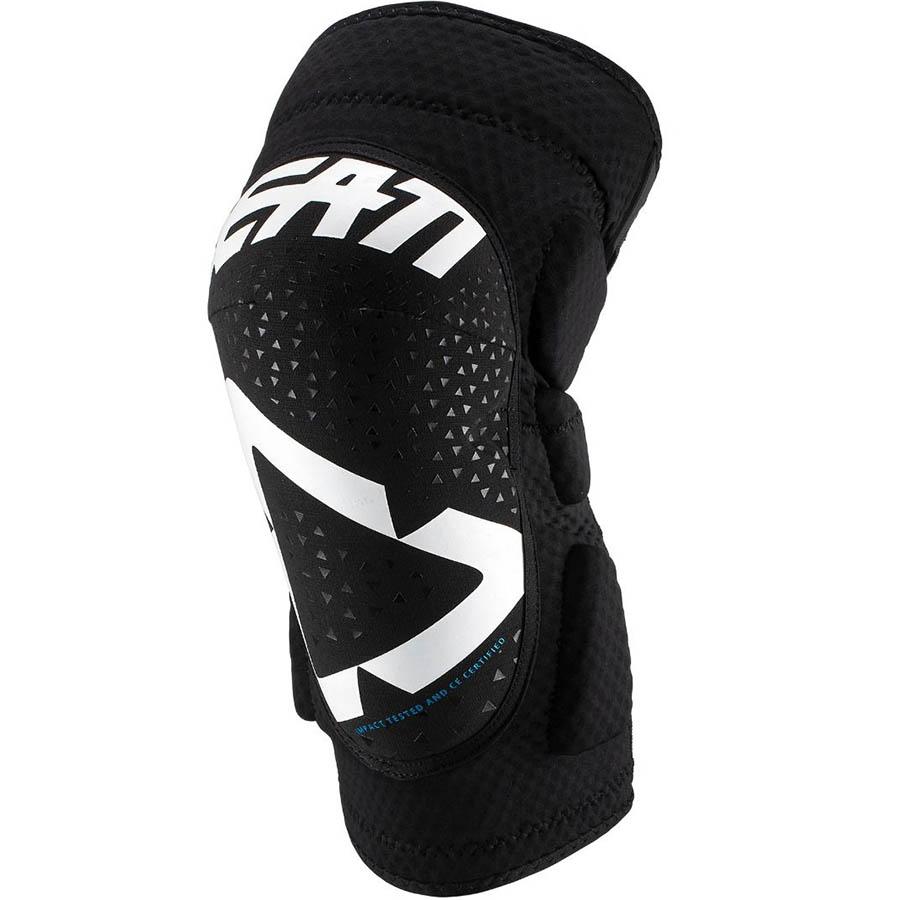 Leatt 3DF 5.0 Mini White/Black защита колен детская, бело-черная