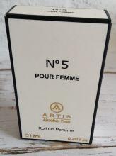 """Artis"" Духи масляные  No 5  Pour Femme(12мл)"