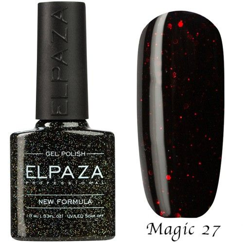 Гель лак ELPAZA MAGIC GLITTER 10 мл ВАВИЛОН 27