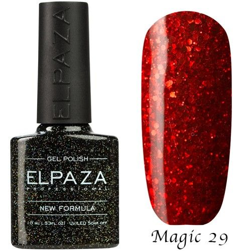Гель лак ELPAZA MAGIC GLITTER 10 мл ФЕЕРИЯ 29