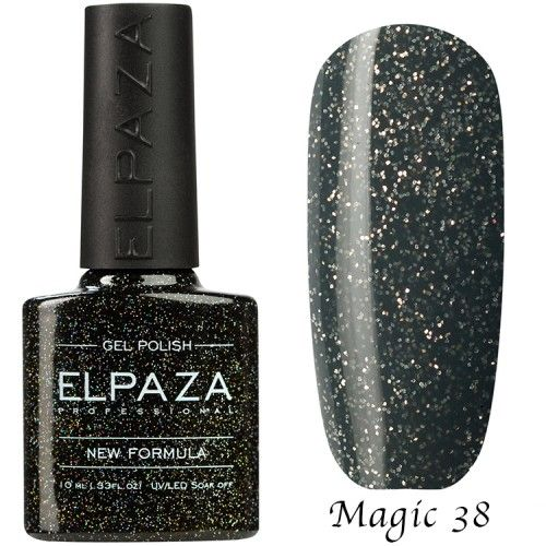 Гель лак ELPAZA MAGIC GLITTER 10 мл ОРИОН 38