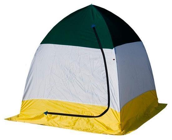 Палатка   зимняя Стэк ELITE 1-мест трехслойная дышащая 150*150*150