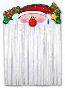 Украшение на дверь Санта (110 см)
