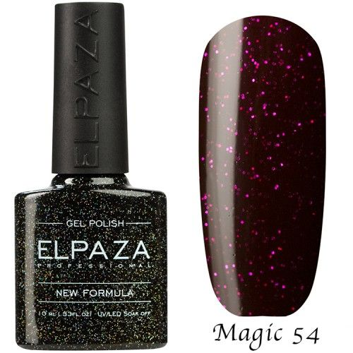 Гель лак ELPAZA MAGIC GLITTER 10 мл СИРИУС 54