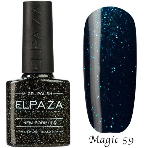 Гель лак ELPAZA MAGIC GLITTER 10 мл ЛУВР 59