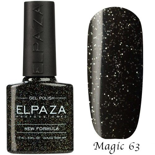 Гель лак ELPAZA MAGIC GLITTER 10 мл ТАУЭРСКИЙ МОСТ 63