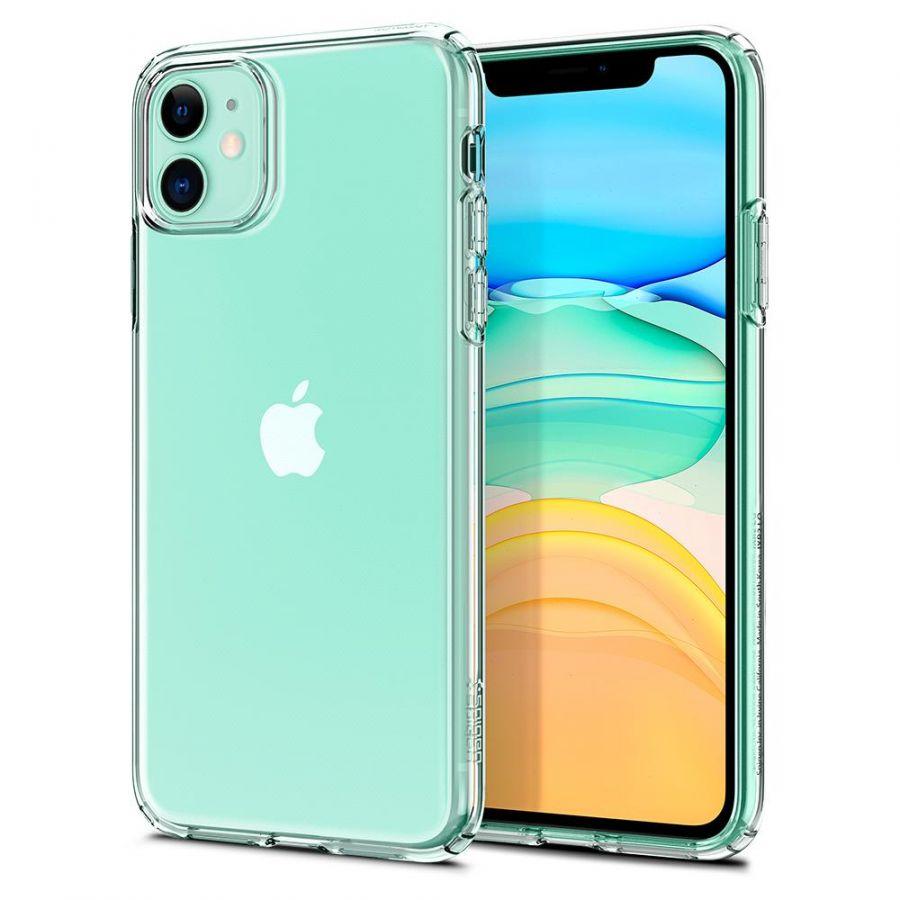 Чехол SGP Spigen Liquid Crystal для iPhone 11 кристально-прозрачный