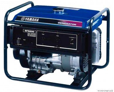 Генератор Yamaha EF 5200 FW