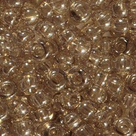 Бисер чешский 48042 прозрачный серо-бежевый блестящий Preciosa 1 сорт