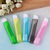 Дорожные зубные щетки Colorful Folding Portable Toothbrush, 5 шт (2)