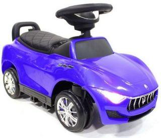 Детская машина-толокар River Toys Maserati A003AA-D