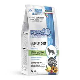 LINEA DIET Для взрослых собак средних пород, оленина с картофелем, 12 кг