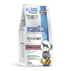 LINEA DIET для взрослых собак средних пород, с ягненком, 12 кг