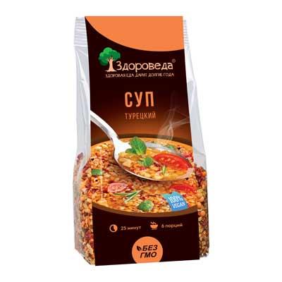 Суп турецкий с булгуром и красной чечевицей Здороведа - 250 гр