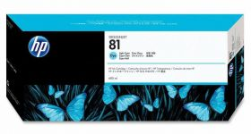 Картридж оригинальный Hewlett-Packard 81 синий C4934A