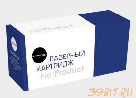 Тонер-картридж NetProduct для Samsung CLP-300/300N/CLX-2160/N/3160N/F, С, 1K (CLP-C300A)