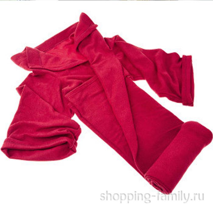 Одеяло-плед с рукавами Snuggle (Снагги), цвет бордовый