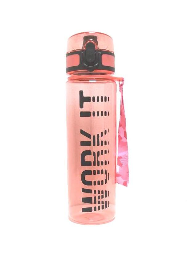 Спортивная бутылка для воды с клапаном Work It, 470 мл (Цвет: Красный)