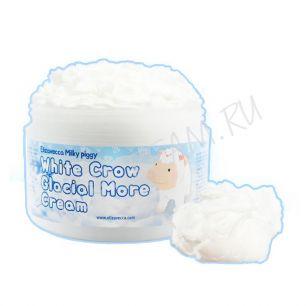 """""""ЕЛЗ"""" Milky Piggy  White Crow Glacial More cream Крем для лица воздушный 100гр"""