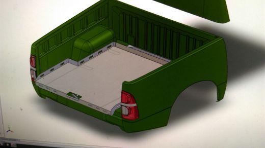 Выкатная платформа грузовая Toyota Tundra Crew Max