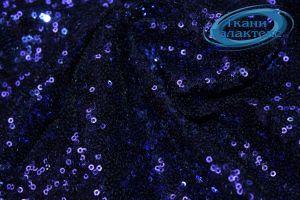 Сетка с пайетками DT-12538/C#11 синий