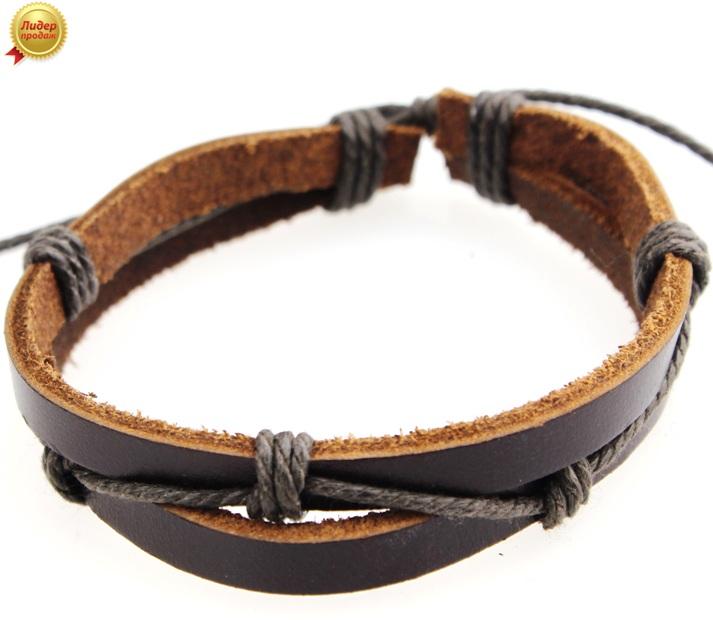Кожаный браслет 60NT-Shir