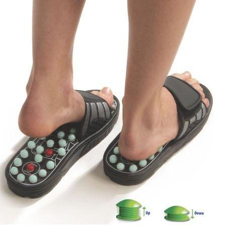 Рефлекторные массажные тапочки