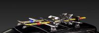 Багажник для лыж и сноубордов - крепление Lux Yeti для 3 пар лыж / 2 сноубордов