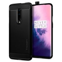 Чехол Spigen Rugged Armor для OnePlus 7 Pro черный