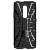 Купить чехол Spigen Rugged Armor для OnePlus 7 Pro черный противоударный чехол для OnePlus 7 Про в Москве в интернет магазине аксессуаров для смартфонов elite-case.ru