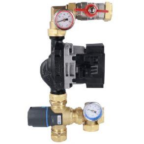Смесительный узел для водяного теплого пола AFRISO 9050100