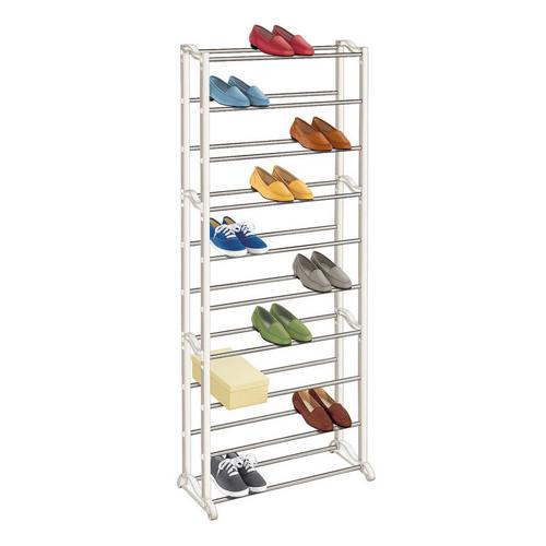 Стойка для обуви Amazing Shoe Rack, цвет - белый.