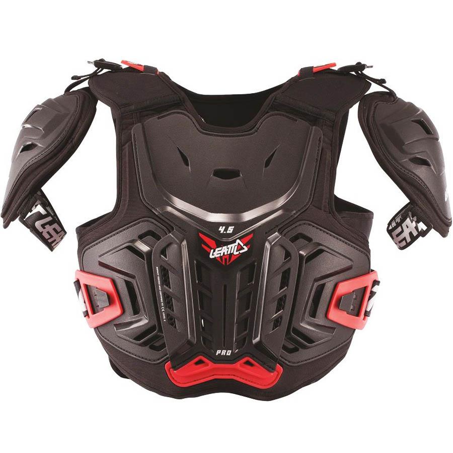 Leatt Chest Protector 4.5 Pro Junior защитный жилет подростковый, черный