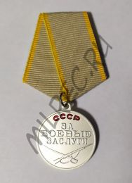 """Медаль """"За боевые заслуги"""" (копия)"""