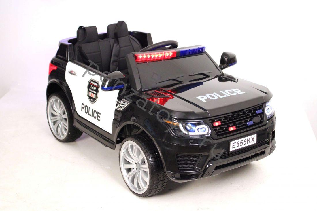 Электромобиль детский E555KX Полиция