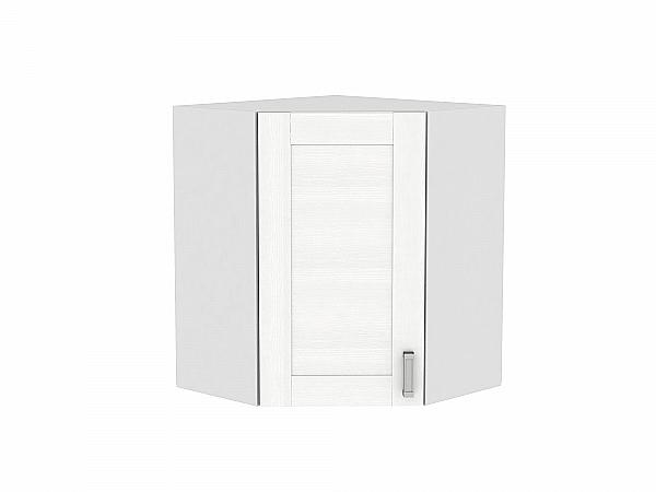 Шкаф верхний угловой Лофт ВУ599 (Snow Veralinga)