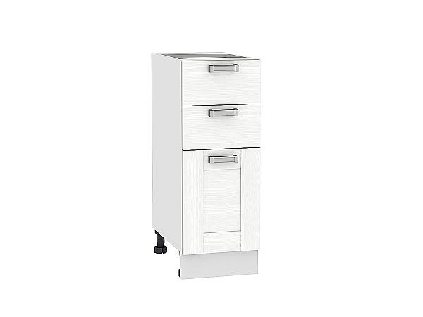 Шкаф нижний Лофт Н303 (Snow Veralinga)