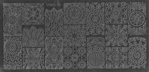 Стемпинг плитка высшее качество  VINS 11
