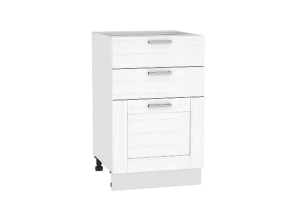 Шкаф нижний Лофт Н503 (Snow Veralinga)