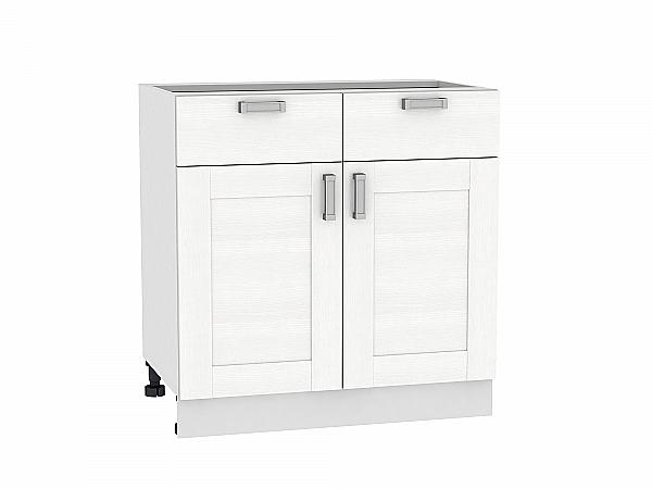 Шкаф нижний Лофт Н801 (Snow Veralinga)