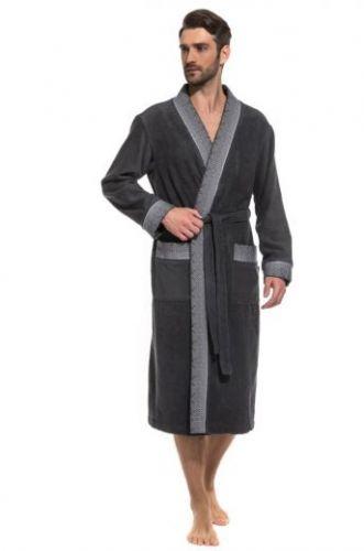 Стильный мужской махровый халат Idealiste