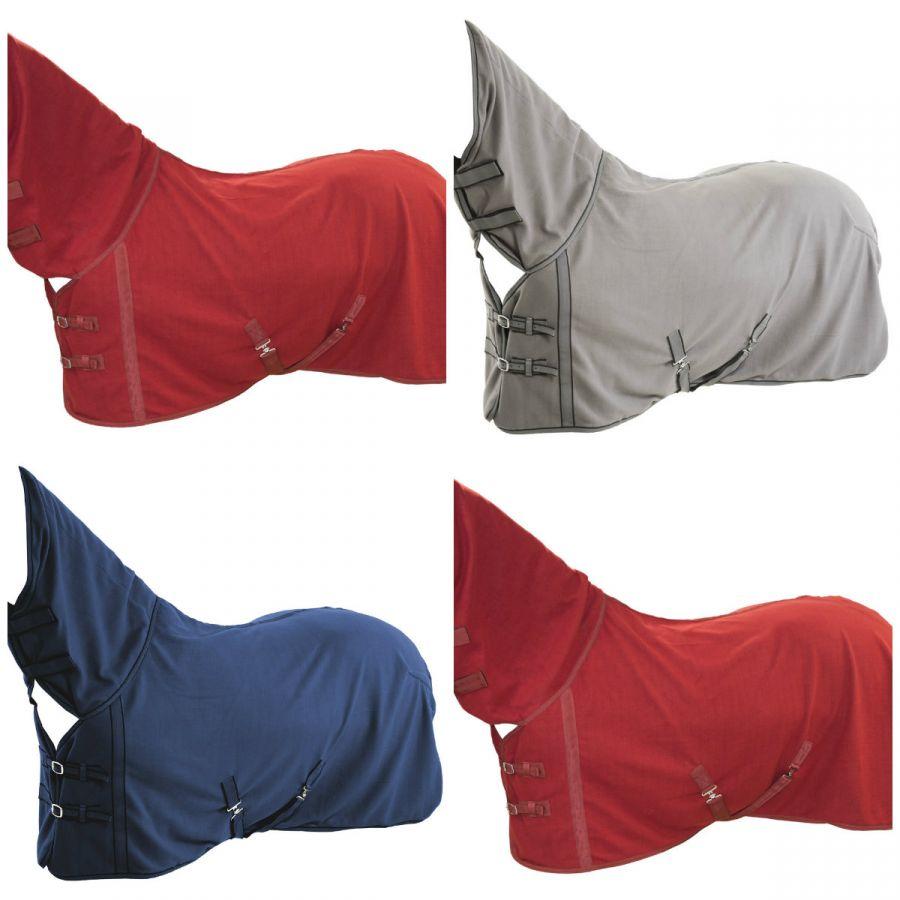 """Флисовая попона с полной шеей """"Horse Comfort"""", плотность 500 г/м."""
