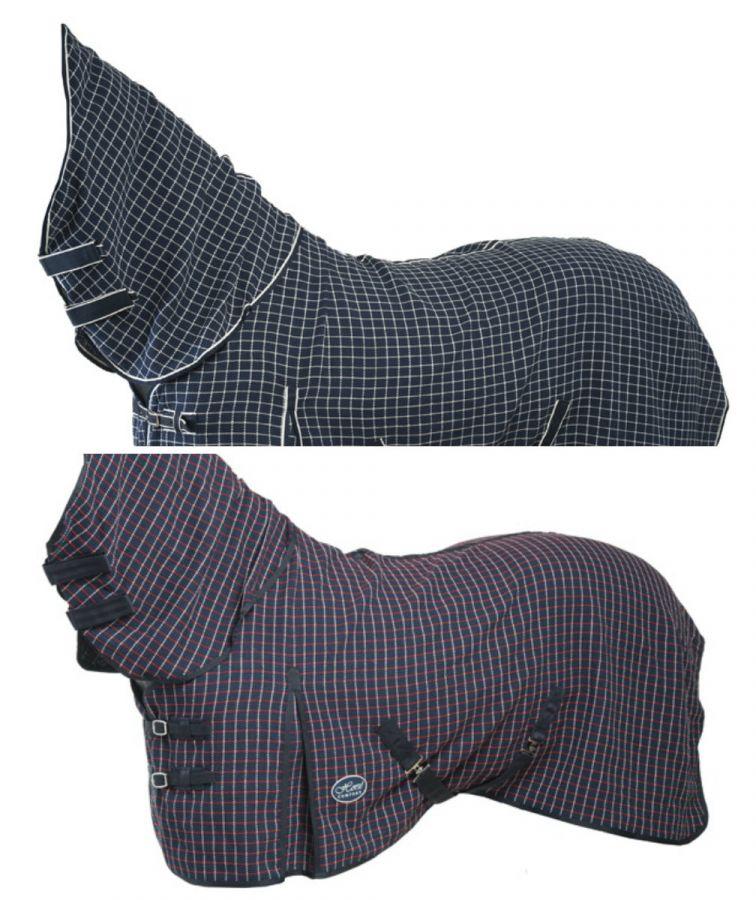 Попона вафельная Horse Comfort. С полной шеей. Изготовлена из 100%-го хлопка.