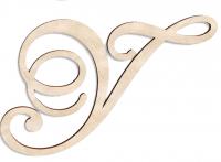 Деревянная буква У