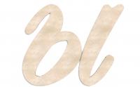 Деревянная буква Ы